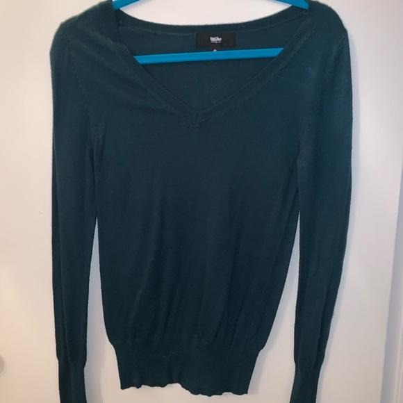 Mossimo Supply Co. Sweaters - Dark blue/ green Mossimo cardigan!!